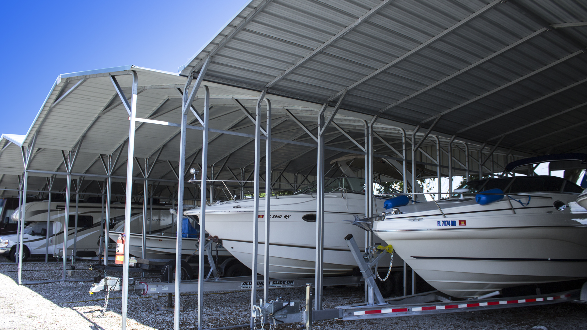 Clearwater Boat Amp Rv Storage Covered And Open Storage